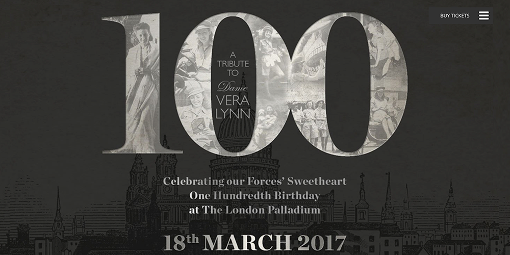 Dame Vera Lynn 100th Birthday Celebration