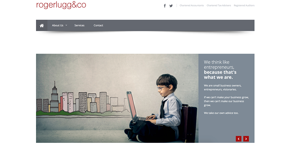 Roger Lugg and Co Web Design
